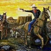 Outlaw Trail Art Print