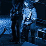 Outlaws #18 Blue Art Print