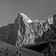 1m3621-bw-outlier Of  Mt. Murchison  Art Print