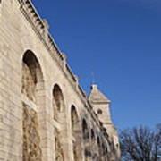 Outside The Basilica Of The Sacred Heart Of Paris - Sacre Coeur - Paris France - 01132 Art Print by DC Photographer