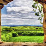 Outside The Fortress Wall Art Print by Jeff Kolker