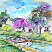 Ouzouer Sur Trezee In France 01 Art Print
