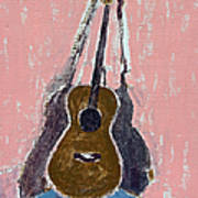 Ovation Legend Ltd Guitar Art Print