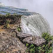Over The Edge Niagara Falls Art Print