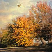 Over The Golden Tree Art Print