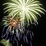 4th Of July Fireworks 5 Art Print