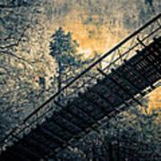 Overhead Bridge Art Print