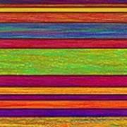 Overlay Stripes Art Print