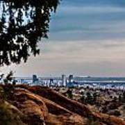 Overlooking Denver Art Print