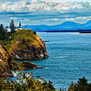 Overlooking Art Print by Robert Bales