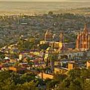 Overlooking San Miguel De Allende Art Print