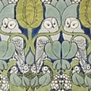 Owls, 1913 Art Print