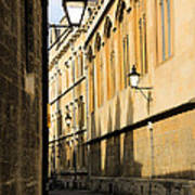 Oxford Alleys Art Print