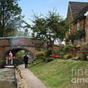 Oxford Canal Art Print