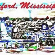 Oxford Mississippi 38655 Art Print