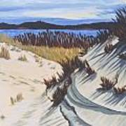 Oyster Pond Dune Montauk Art Print