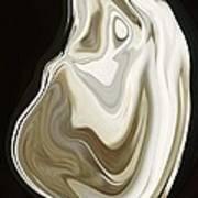 Oyster Shell No 3 Art Print