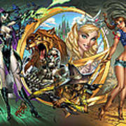 Oz 01a Print by Zenescope Entertainment