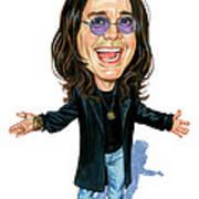Ozzy Osbourne Art Print by Art