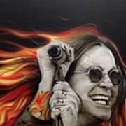 Ozzy's Fire Art Print