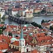 Prague - Charles Bridge Art Print