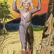 P.124-1950.pt29 Frontispiece To Songs Print by William Blake