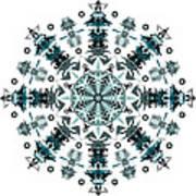 P2 Mandala Art Print