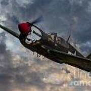 P40 Warhawk Tribute Art Print