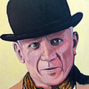 Pablo Picasso Art Print by Tom Roderick