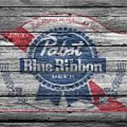 Pabst Blue Ribbon Beer Art Print