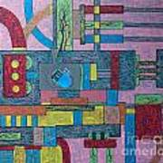 Pacemarker In Circulation Art Print