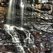 Pachinko - Blackwater Falls State Park Wv Autumn Mid-morning Art Print