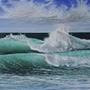 Pacific Breeze Art Print