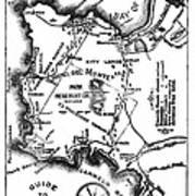 Pacific Grove And Vicinity  Monterey Peninsula California  Circa 1880 Art Print