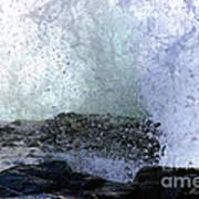 Pacific Ocean Wave Splash Art Print