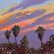 Pacific Sunset 1 Art Print