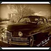 Packard Classic At Truckee River Art Print