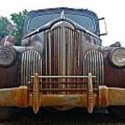 Packard One-eighty Grill Art Print