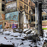 Packard Plant Detroit Michigan - 11 Art Print