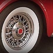 Packard Wheel Art Print