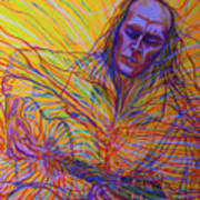 Paco De Lucia And Guardian Angel Art Print