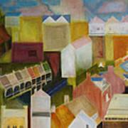 Paddington Landscape Art Print