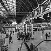 Paddington Station Bw Art Print