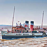 Paddle Steamer Waverley Art Print