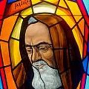 Padre Pio Art Print