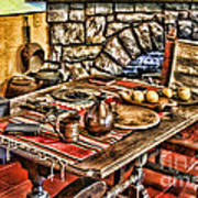 Padre's Table By Diana Sainz Art Print