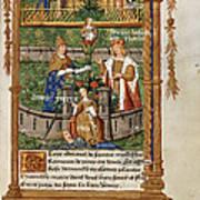 Pageant At Saints-innocents Art Print