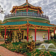 Pagoda In Norfolk Virginia Art Print