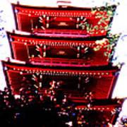 Pagoda Marvel Art Print