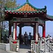 Pagoda Pavilion Art Print